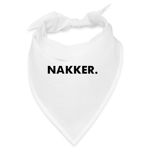 'Nakker' Wit (Maat S+) - Bandana