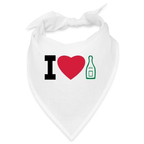 i love champagne - Bandana