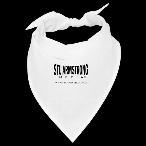 Stu Armstrong Media Black Logo - Bandana