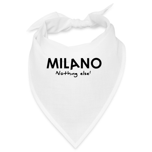milano nothing else - Bandana