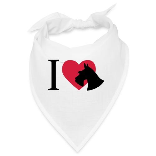 i love scottish terrier - Bandana