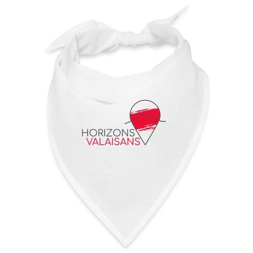 Horizons Valaisans (noir) - Bandana