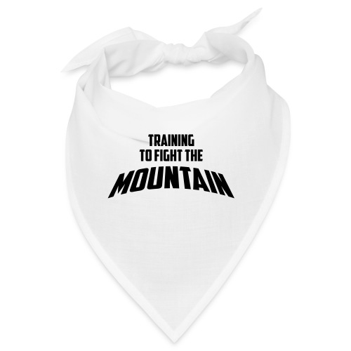 Fight the Mountain - Bandana
