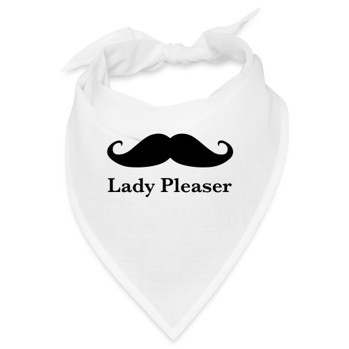 Lady Pleaser T-Shirt in Green - Bandana