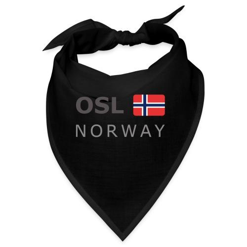 OSL NORWAY dark-lettered 400 dpi - Bandana