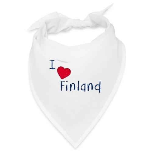 I Love Finland - Bandana