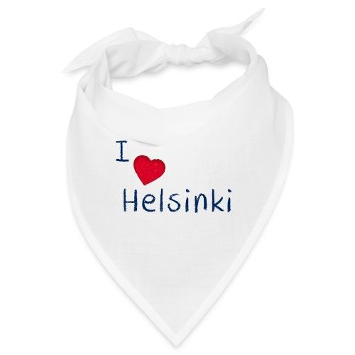I Love Helsinki - Bandana