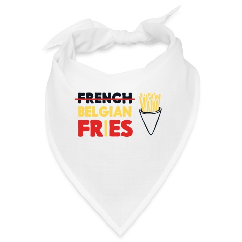 Vote for Belgian Fries - Bandana