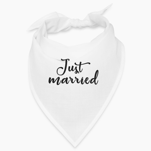 Just married - Bandana