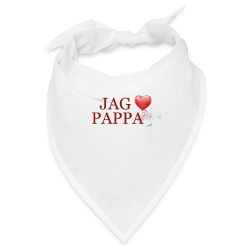Jag älskar pappa - Snusnäsduk