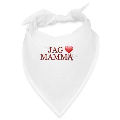 Jag älskar mamma - Snusnäsduk