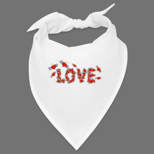 Fliegende Herzen LOVE - Bandana