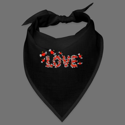 Flying Hearts LOVE - Bandana