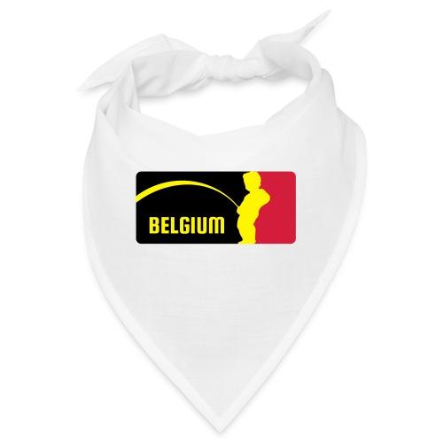 Mannekke Pis, Belgium Rode duivels - Belgium - Bel - Bandana