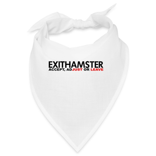 EXITHAMSTER JUST LEAVE png - Bandana