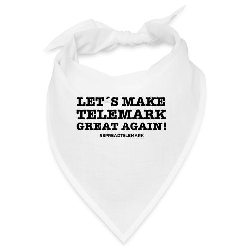 Let´s make telemark great again - Bandana
