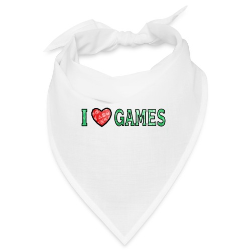 I Love Games - Bandana