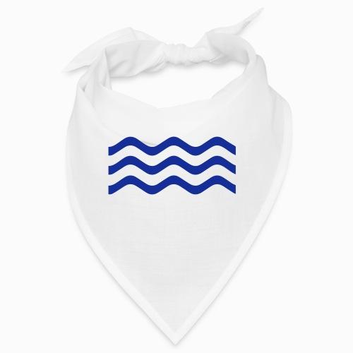 Zeeuwse golf - cadeau voor Zeeuwen en Zeeland fans - Bandana