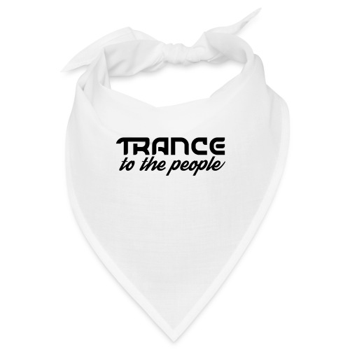 Trance to the People Sort Logo - Bandana
