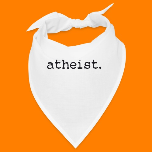atheist BLACK - Bandana