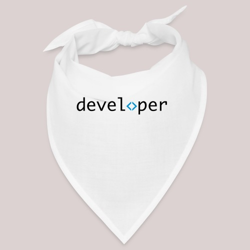 developer, coder, geek, hipster, nerd - Bandana