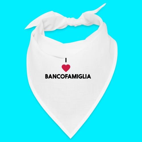 BANCOFAMIGLIA CuoreNera - Bandana