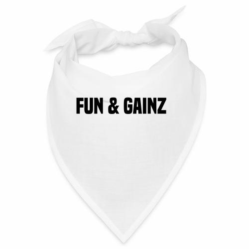 fun and gainz - Bandana