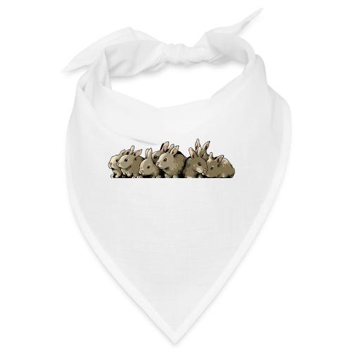 Lapins gris - Bandana