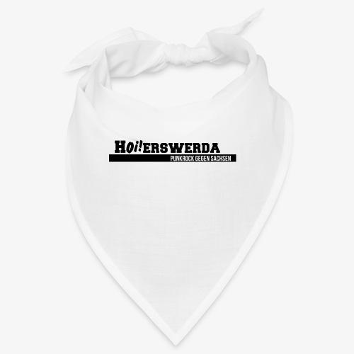 Logo Hoierswerda invertiert - Bandana