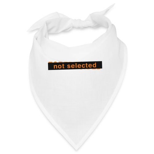 Not Selected - Bandana