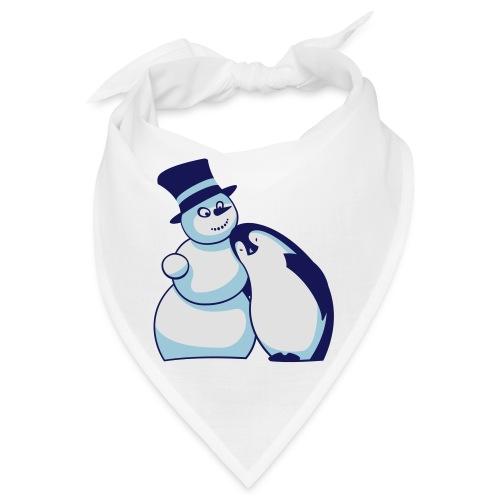 Schneemann und Pinguin - Bandana