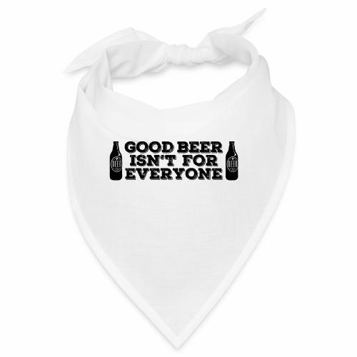 Good Beer - Bandana