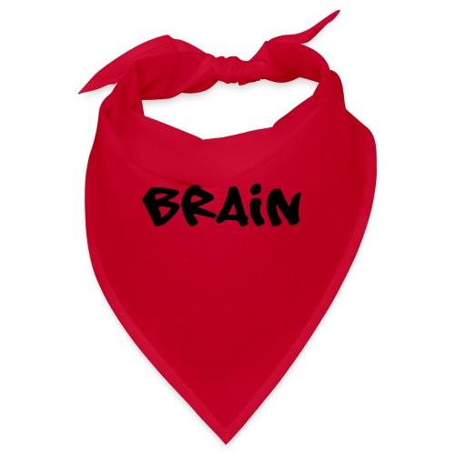 brain schriftzug - Bandana