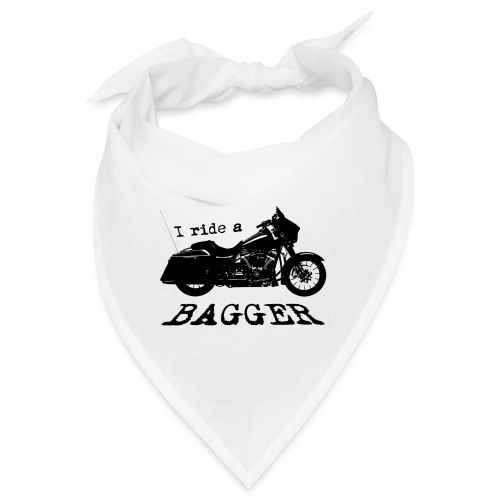 I ride a bagger - sort - Bandana