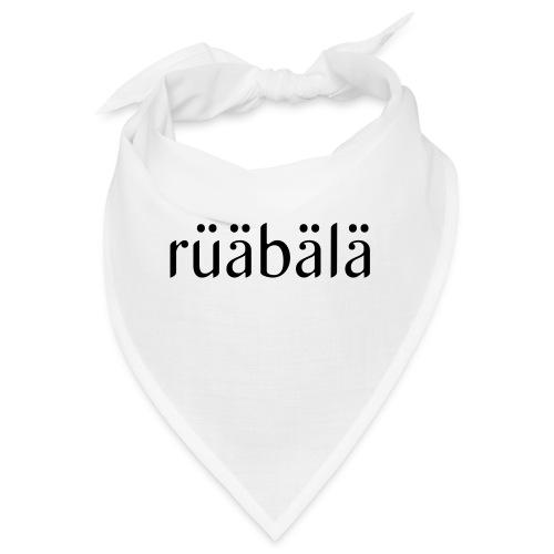 rüäbäla - Bandana