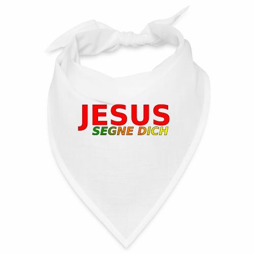 JESUS segne dich - bunt - Bandana