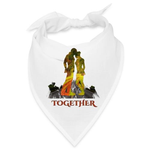 Together -by- T-shirt chic et choc - Bandana