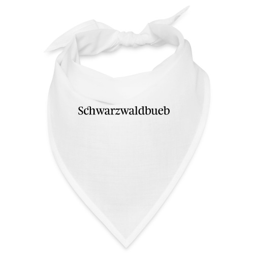Schwarwaldbueb - T-Shirt - Bandana