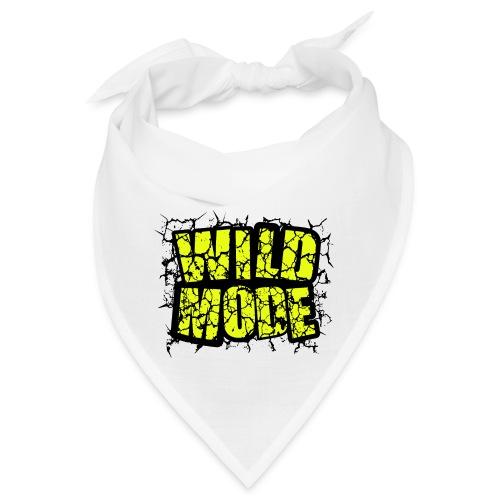 WILD MODE NEGRO Y VERDE - Bandana