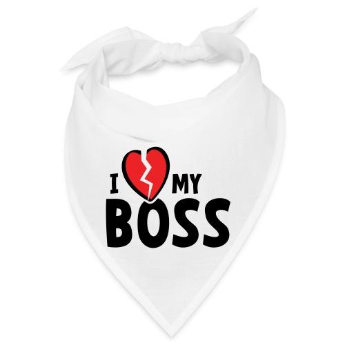 Slogan i hate my boss. Ik haat mijn baas of werk. - Bandana