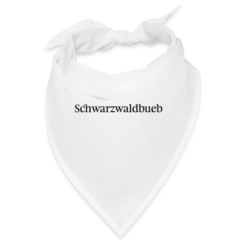 Schwarwaödbueb - T-Shirt - Bandana