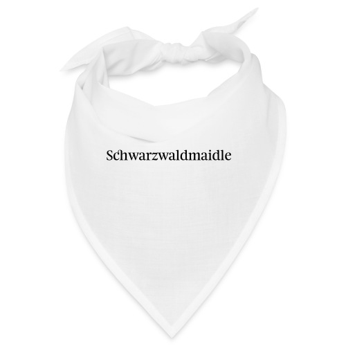 Schwarzwaldmaidle - T-Shirt - Bandana