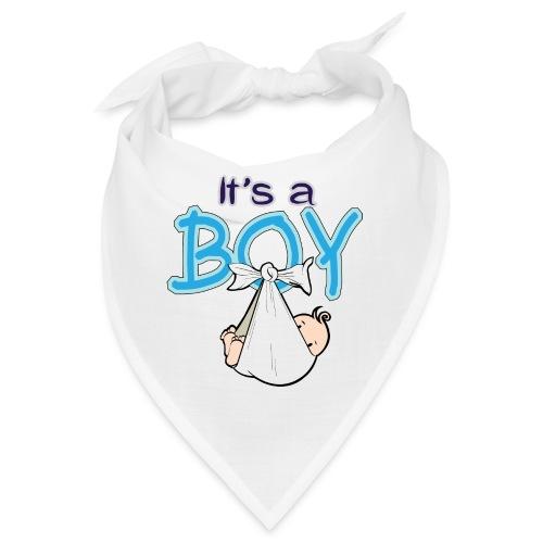 Babyshower Boy Blauw - Bandana