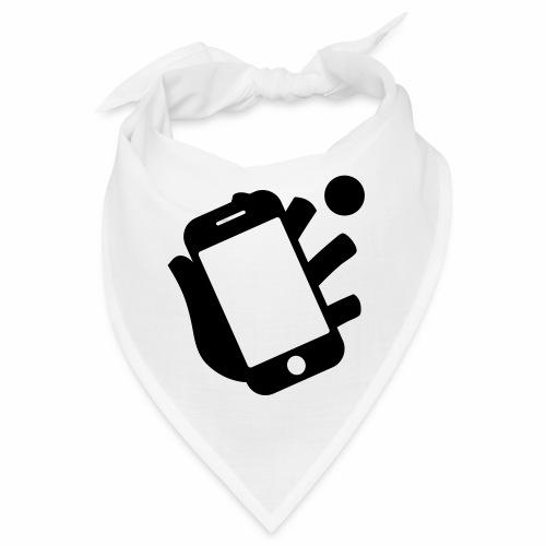 Smartphone-Tennis Logo Print - Bandana
