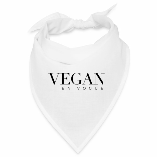 Vegan en vogue - Bandana