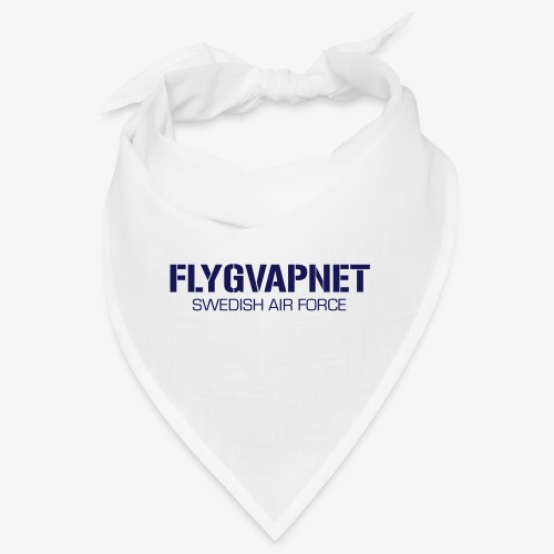 FLYGVAPNET - SWEDISH AIR FORCE - Snusnäsduk