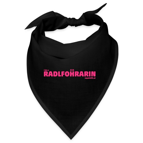 supatrüfö radlfohrarin - Bandana