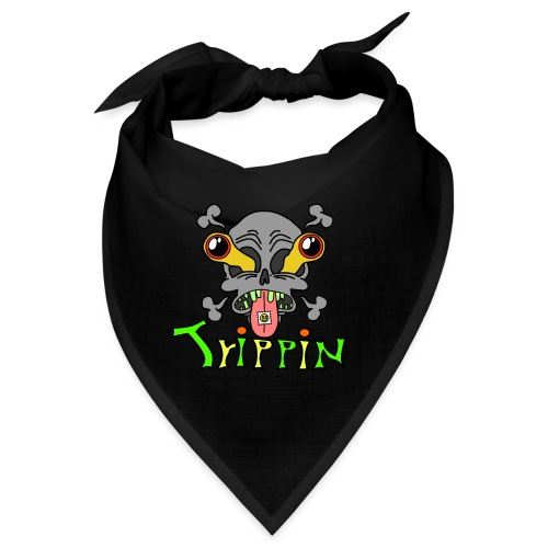 Totenkopf Trippin Design - Bandana