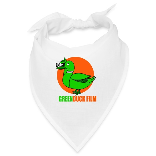 Greenduck Film Orange Sun Logo - Bandana