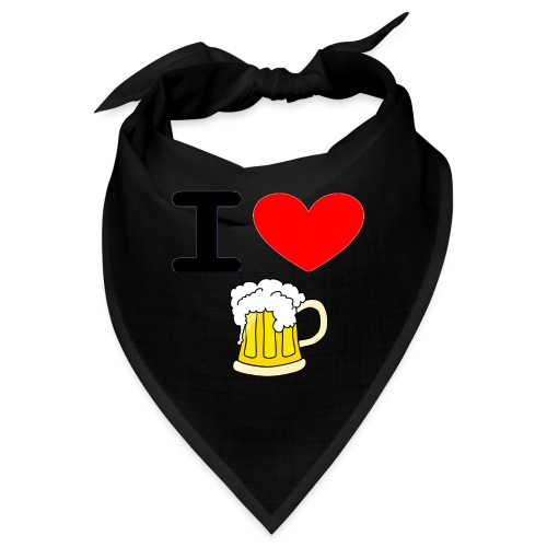 I love bier - Bandana